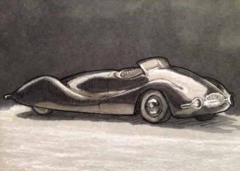 Vintage Concept Car